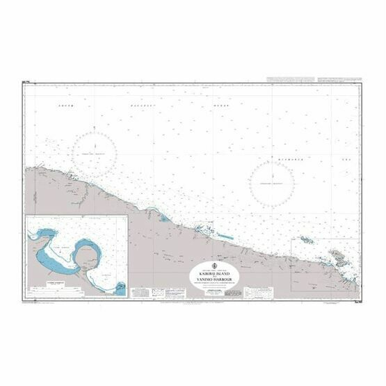 AUS389 Kairiru Island to Vanimo Harbour Admiralty Chart