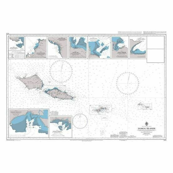 NZ86 Samoa Islands Admiralty Chart