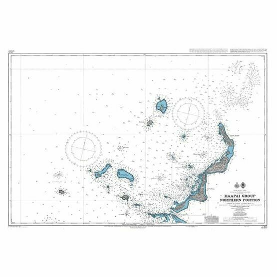 NZ8247 Haapai Group  Northern Portion Admiralty Chart