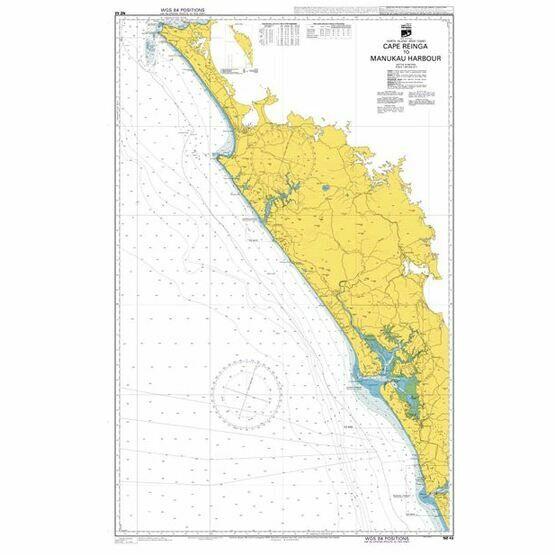 NZ42 Cape Reinga to Manukau Harbour Admiralty Chart