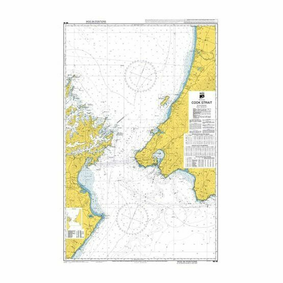 NZ46 Cook Strait Admiralty Chart