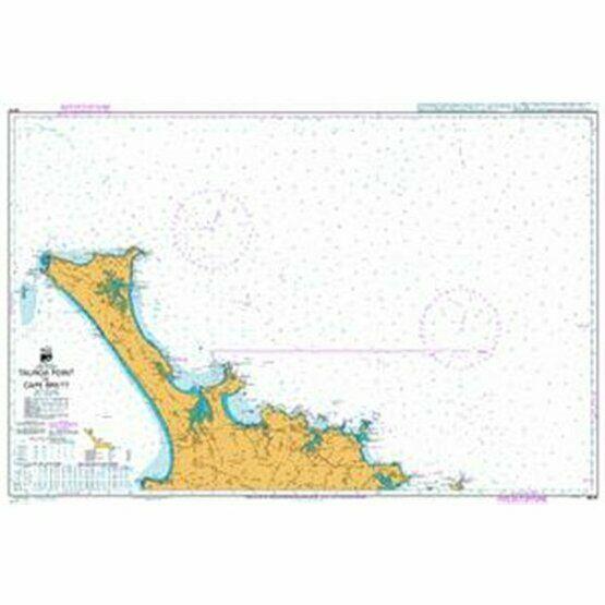 NZ51 Tauroa Point to Cape Brett Admiralty Chart