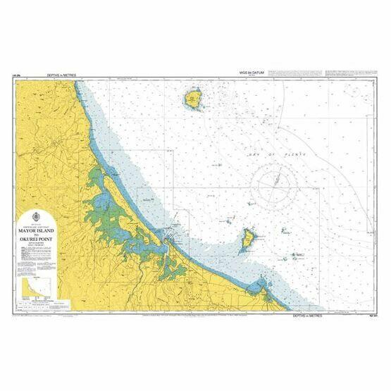 NZ541 Mayor Island to Okurei Point Admiralty Chart