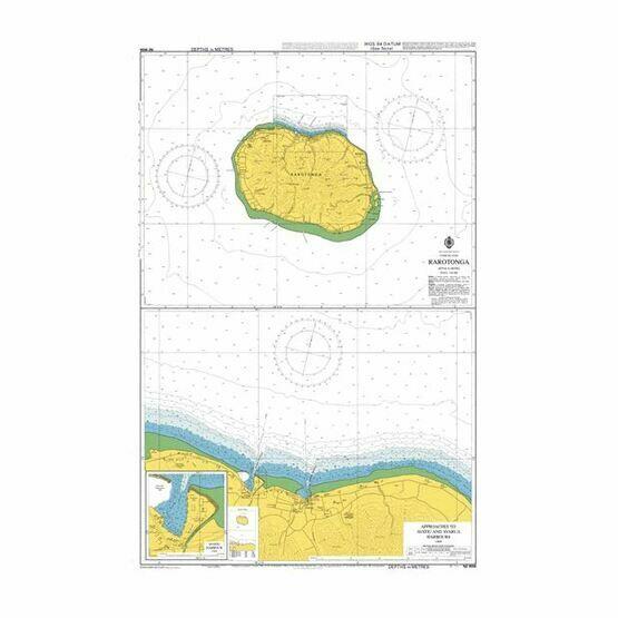 NZ9558 Rarotonga Admiralty Chart