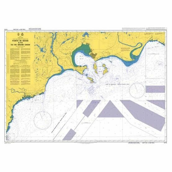 4775 St Lawrence River,Pointe de Moise to Ile du Grand Caouis Admiralty Chart