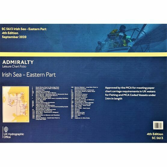SC5613 Irish Sea: Eastern Part Admiralty Leisure Folio
