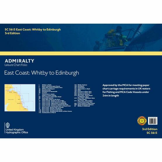 SC5615 East Coast: Whitby to Edinburgh Admiralty Leisure Folio
