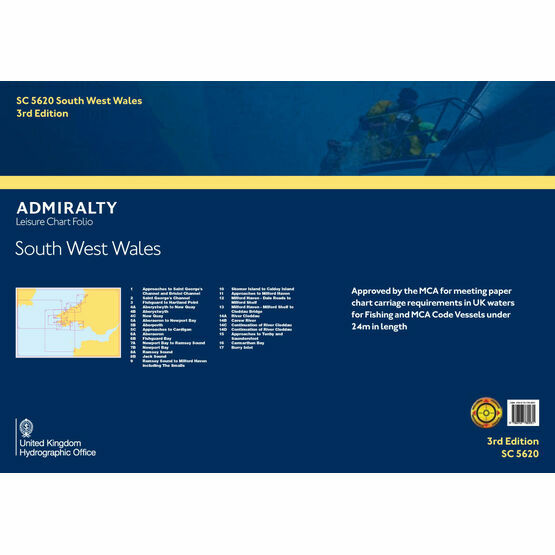 SC5620 South West Wales Admiralty Leisure Folio