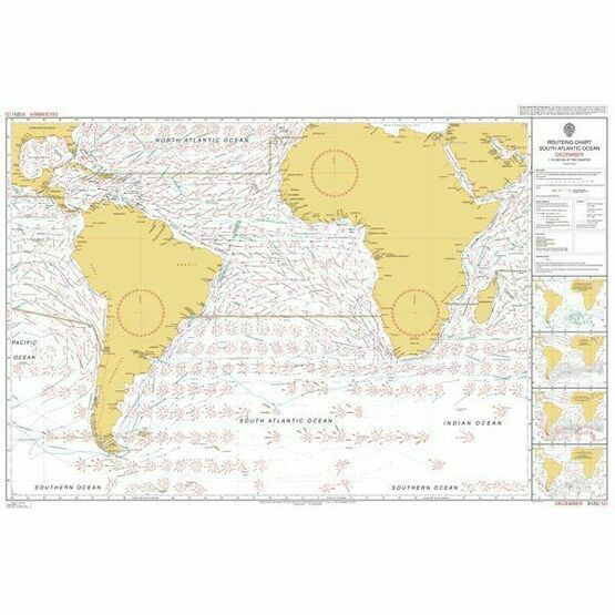 5125 (12) December - South Atlantic Admiralty Chart