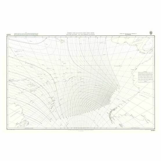 5098 South Pacific and Southern Oceans Admiralty Chart