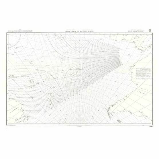 5098c  South Pacific and Southern Oceans Admiralty Chart
