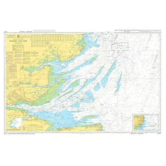 5041 Thames Estuary Instructional Admiralty Chart