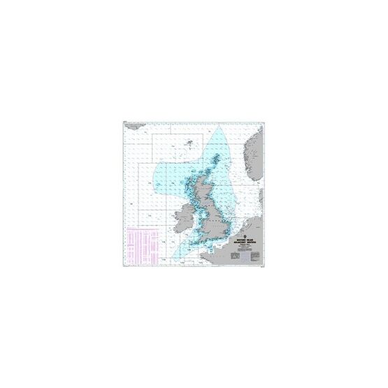 Q6353 British Isles Adjacent Waters - Fisheries Admiralty Chart