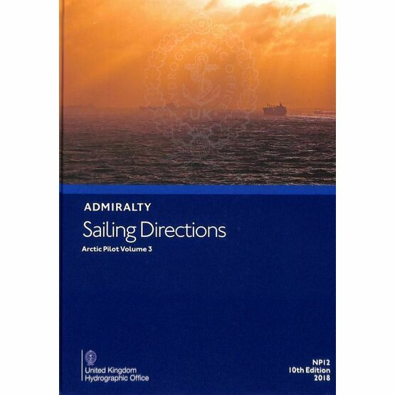 Admiralty Sailing Directions NP12 The Arctic Pilot Vol.3