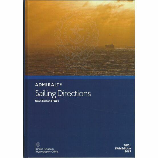 Admiralty Sailing Directions NP51 New Zealand Pilot