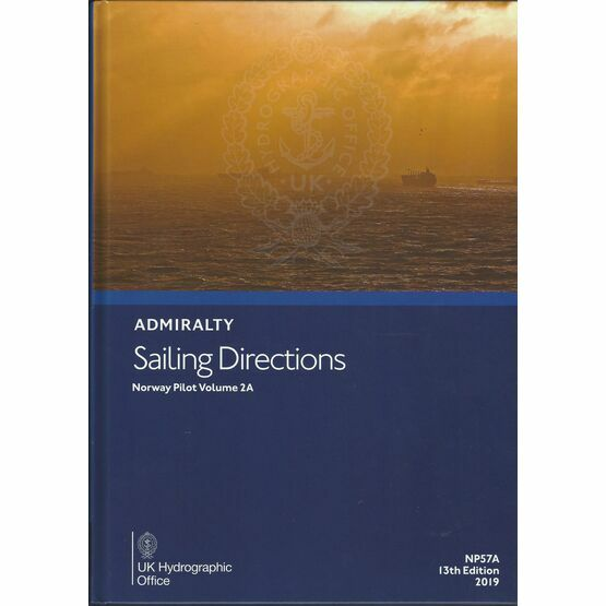 Admiralty Sailing Directions NP57A Norway Pilot Volume 2A