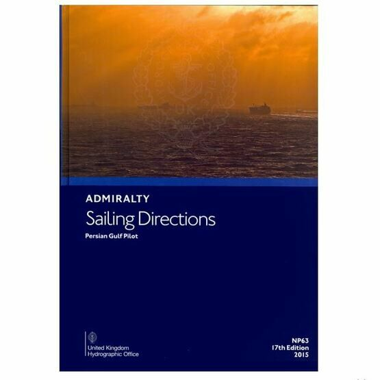 Admiralty Sailing Directions NP63 Persian Gulf Pilot