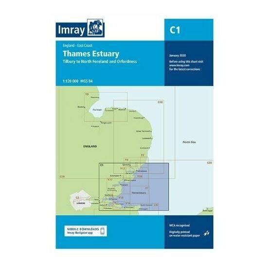 Imray Chart C1: Thames Estuary