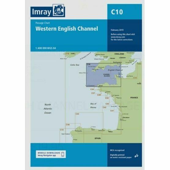 Imray Chart C10: Western English Channel