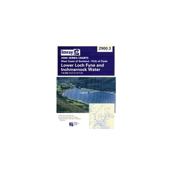 Imray Chart 2900.3 Lower Loch Fyne and Inchmarnock Water