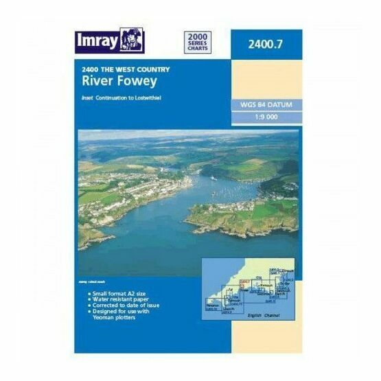 Imray Chart 2400.7 River Fowey to Lostwithiel