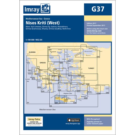 Imray Chart G37: Nisos Kriti (West)
