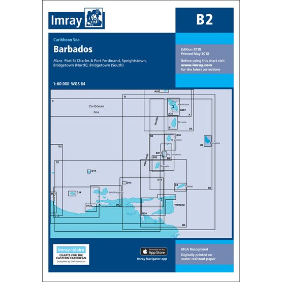 Imray Chart B2: Barbados