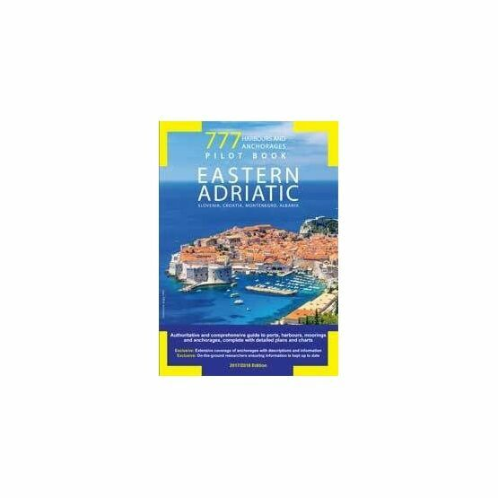 Imray 777 Harbours and Anchorages Pilot: Eastern Adriatic