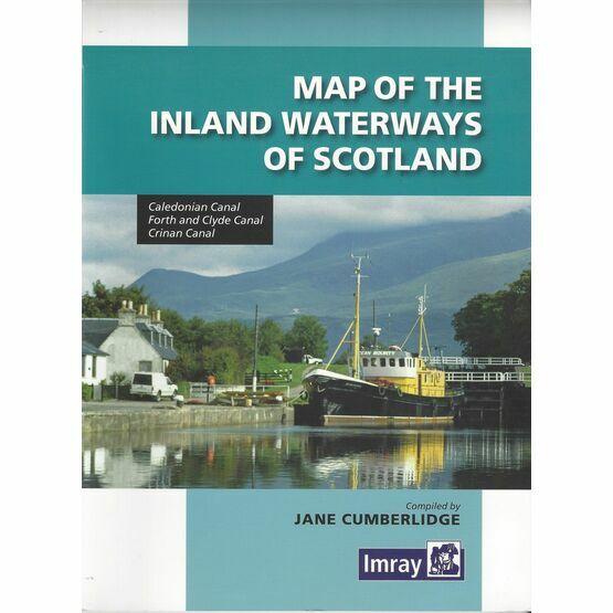 Imray Map of the Inland Waterways of Scotland