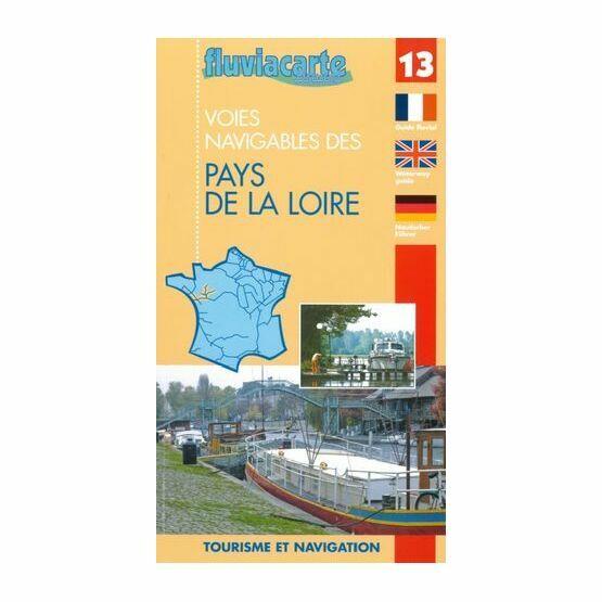 Fluviacarte No. 13. Le Pays de Loire Guide