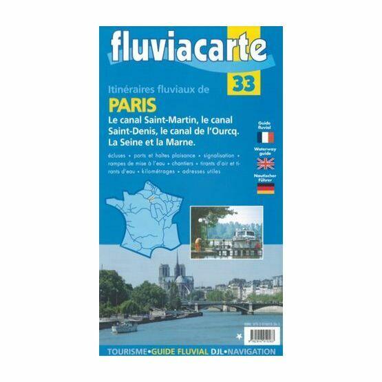 Imray Fluviacarte 33: Canal de L'Ourcq