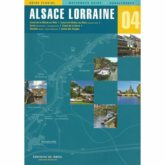 Imray Editions Du Breil No.4 Alsace / Lorraine Waterway Guide