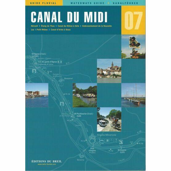 Imray Editions Du Breil No. 7 Canal Du Midi Waterway Guide