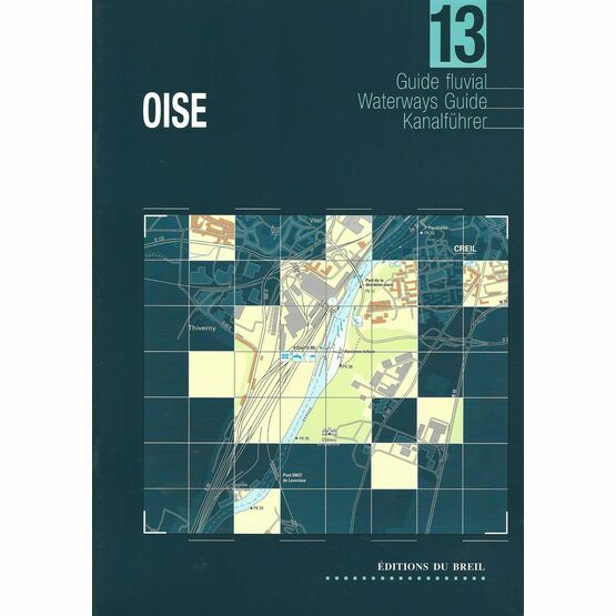 Imray Editions Du Breil No. 13 Oise Waterway Guide