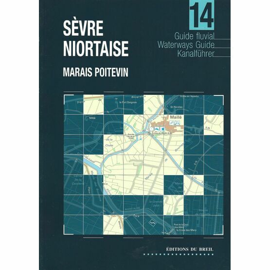 Imray Editions Du Breil No. 14 Sevre Niortaise13 Oise Waterway Guide