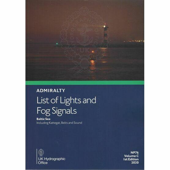 Admiralty NP76 List of Lights & Fog Signals (Volume C)