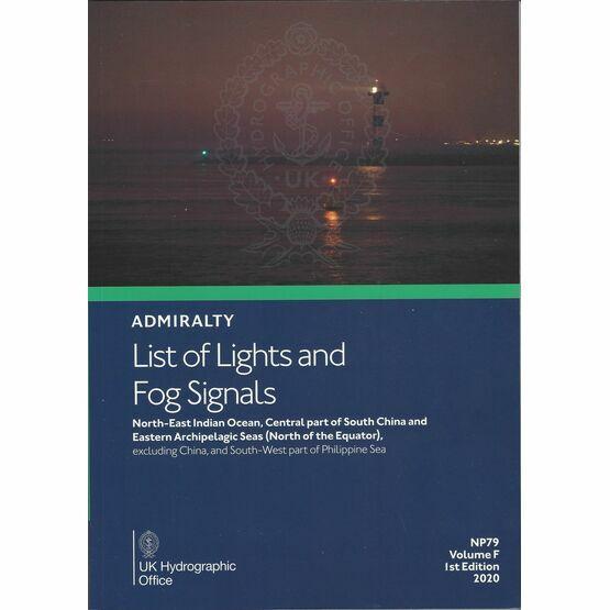 Admiralty NP79 List of Lights & Fog Signals (Volume F)
