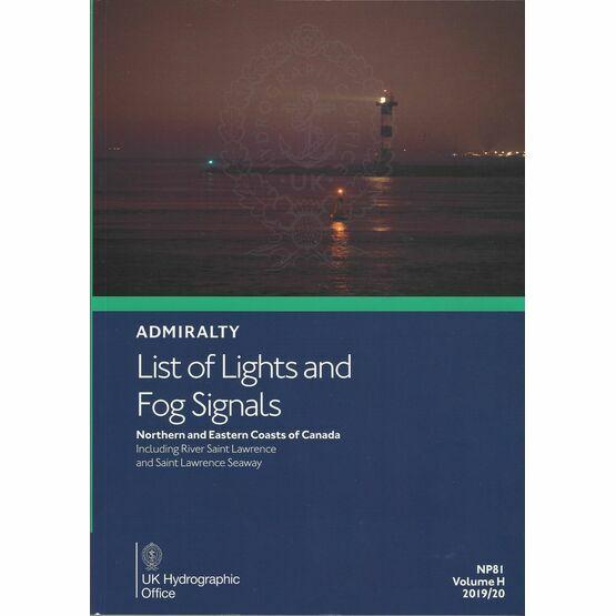 Admiralty NP81 List of Lights & Fog Signals (Volume H)