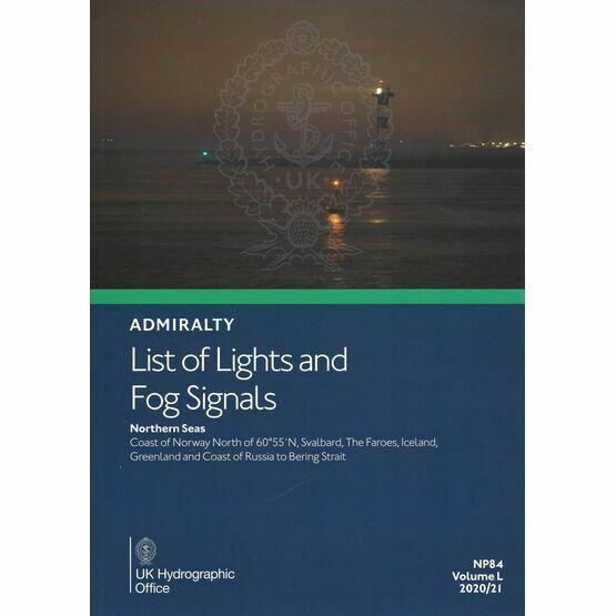 Admiralty NP84 List of Lights & Fog Signals (Volume L)
