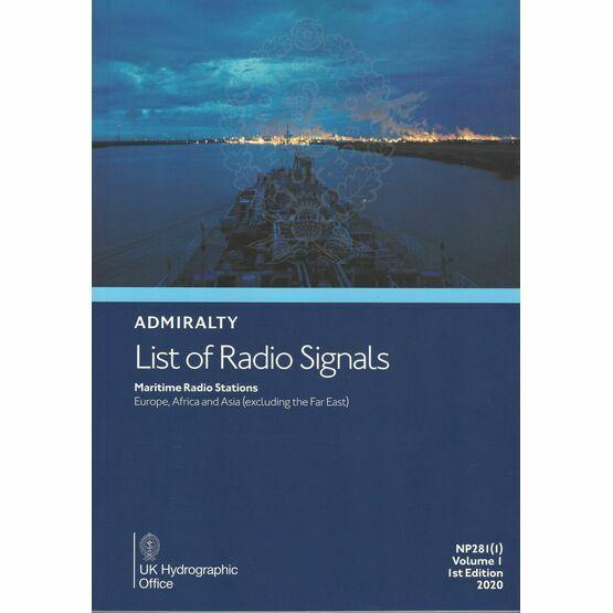 Admiralty NP281(1) List of Radio Signals (Volume 1 - Part 1)