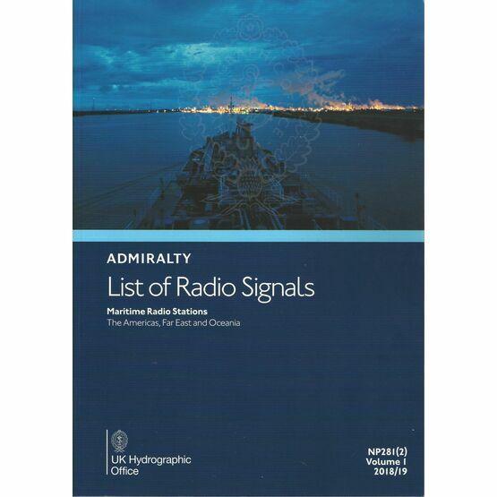 Admiralty NP281(2) List of Radio Signals (Volume 1 - Part 2)
