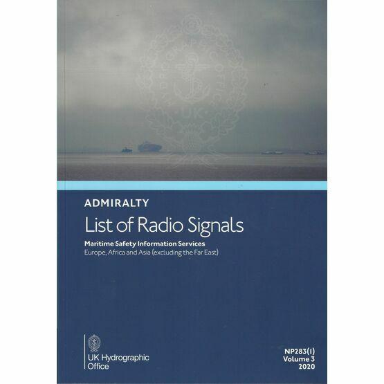 Admiralty NP283(1) List of Radio Signals (Volume 3 - Part 1)