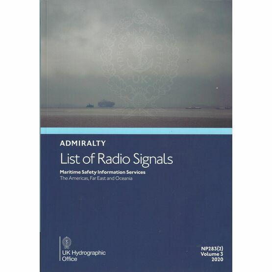 Admiralty NP283(2) List of Radio Signals (Volume 3 - Part 2)