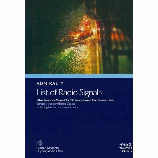 Admiralty NP286(2) List of Radio Signals (Volume 6 - Part 2)