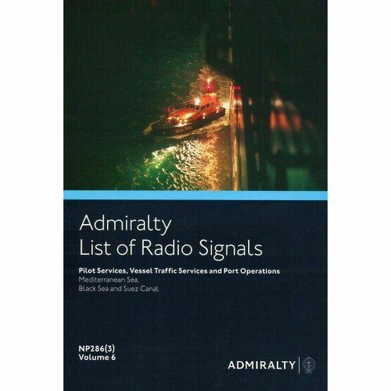 Admiralty NP286(3) List of Radio Signals (Volume 6 - Part 3)