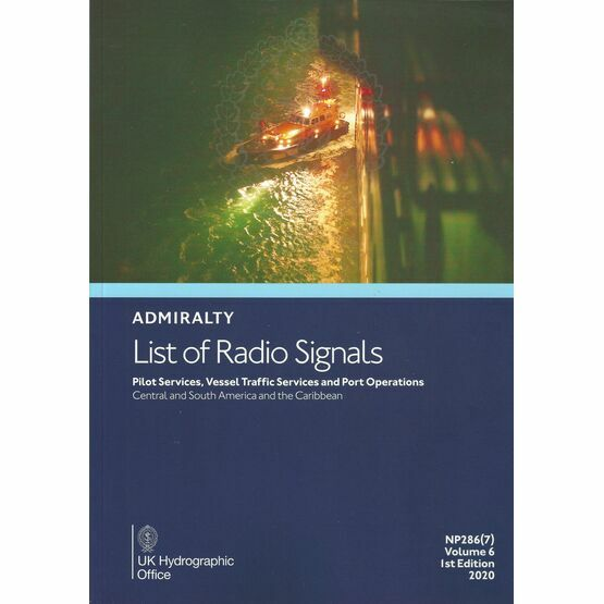 Admiralty NP286(7) List of Radio Signals (Volume 6 - Part 7)