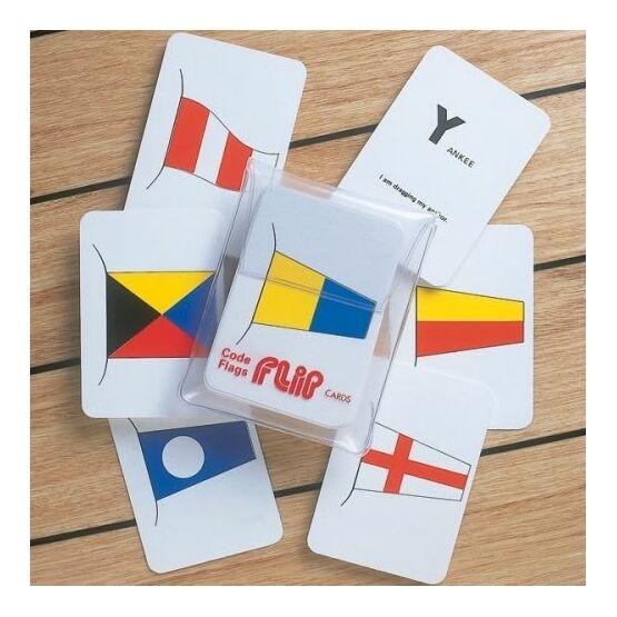 Marine Flip Cards Code Flags - Navigation Aids