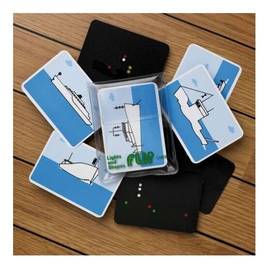 Marine Flip Cards Lights and Shapes  - Navigation Aids