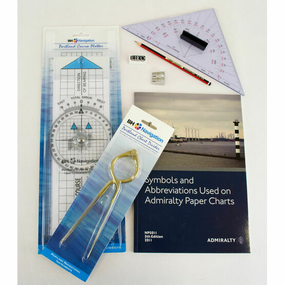 Marine Navigation Chart Plotting Kit (4)