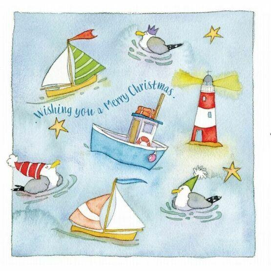 Emma Ball Ahoy! Christmas Cards - Various Designs